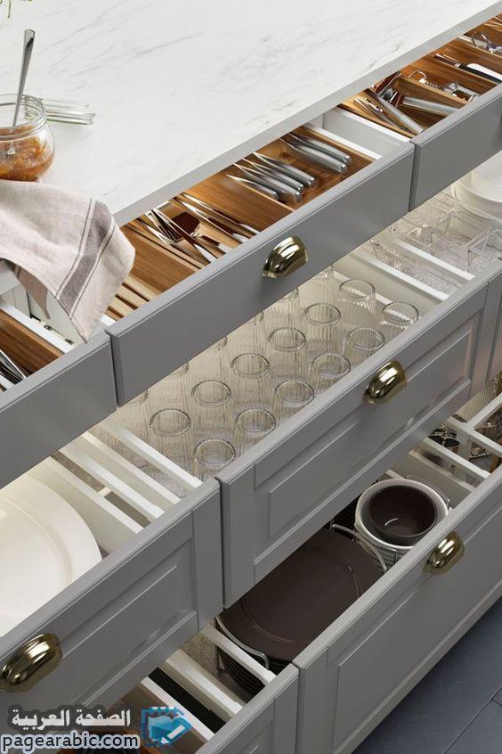 Die besten 25+ Moderne küchen schubladen organisatoren Ideen auf - schubladen küche nachrüsten