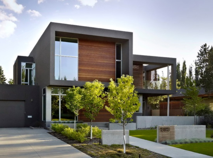 Wood cladding facade architecture and design pinterest for Exterior house facade ideas