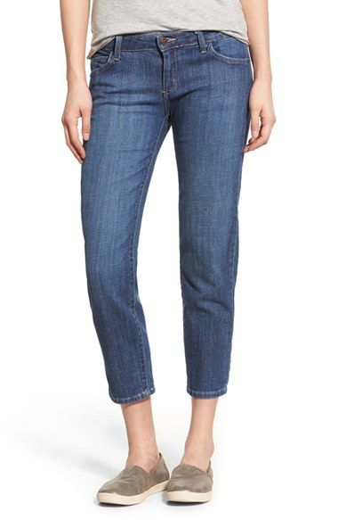 HART Denim 'Ella' Cigarette Jeans (Mulberry Wash) available at #Nordstrom