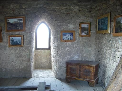 Topolcany castle Tower room