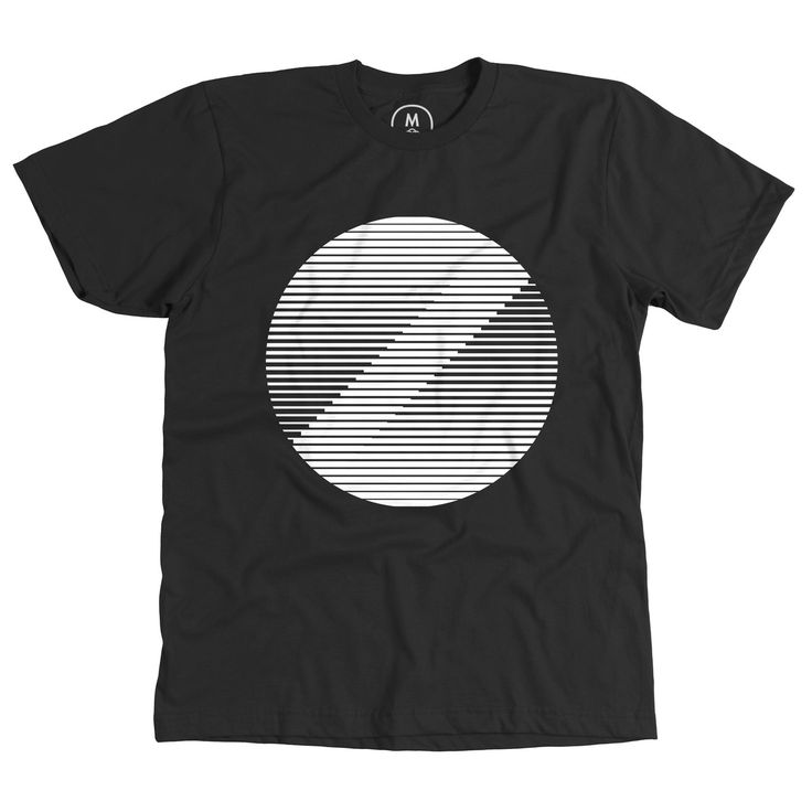 """""""Venetian Moon"""" designed by Joe Scerri. The shirt you wear when you are not wearing unknown pleasures. Now for sale at www.cottonbureau.com.  #tshirt #graphic #abstract"""