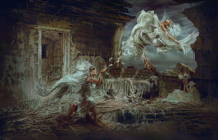 Immortality desires the mortality, Piotr Ruszkowski
