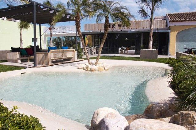 Piscinas de arena house pools backyard and tiny spaces for Piscinas de arena