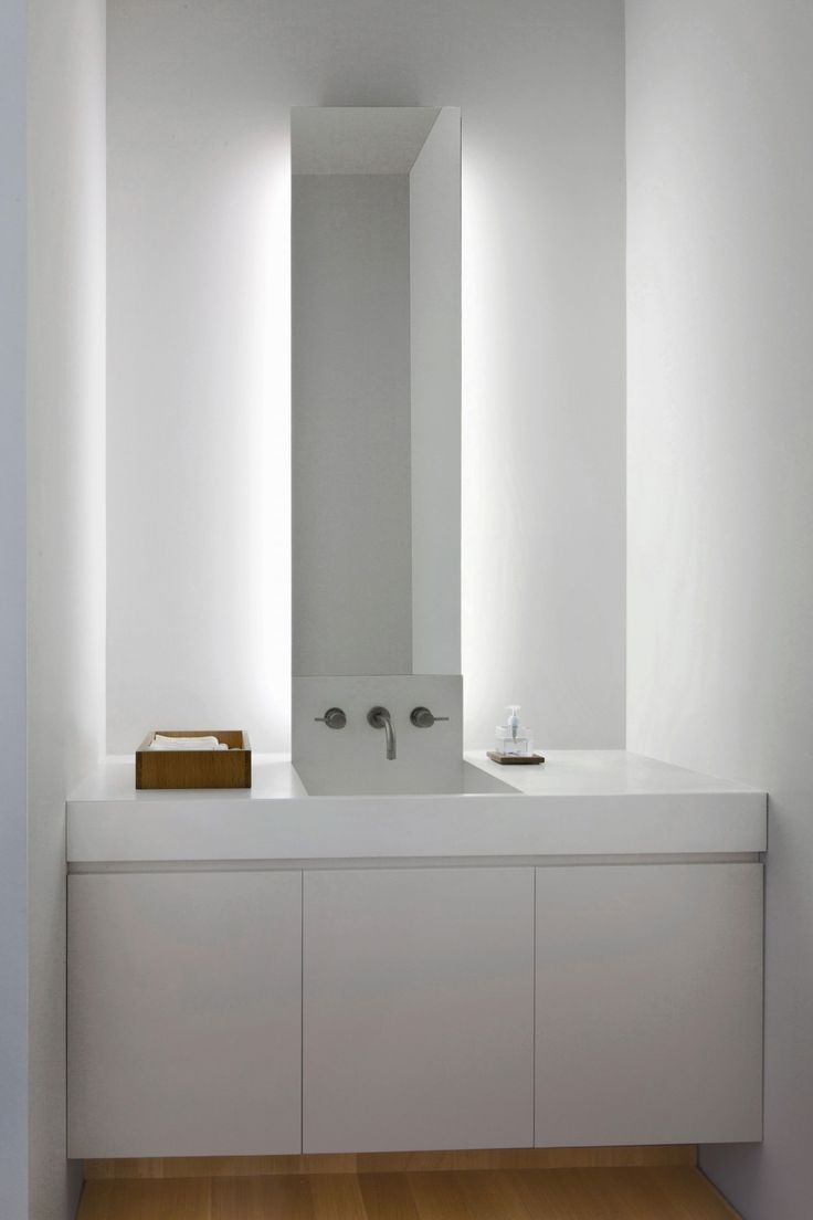 Fairview Townhouse by Bucchieri Architects - I like the lighting