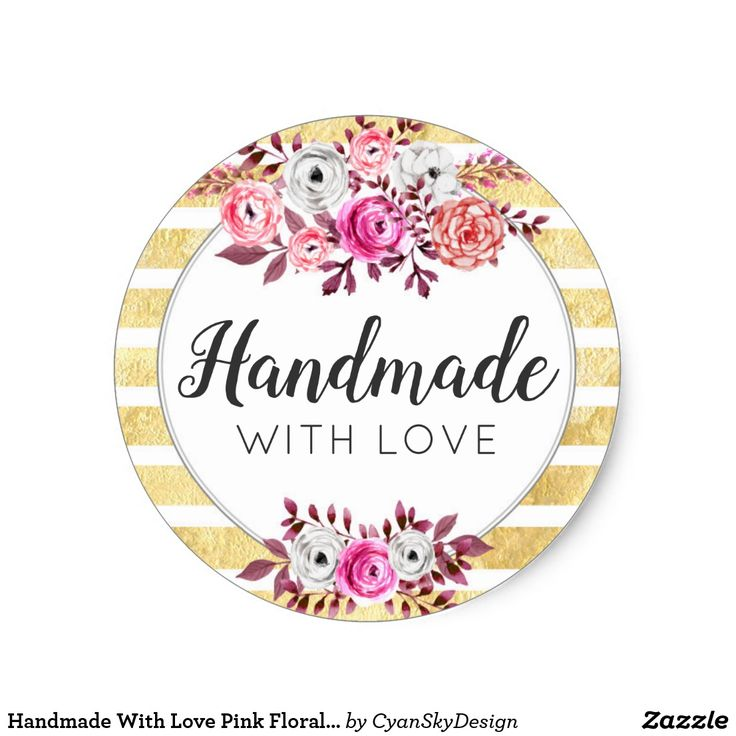 121 Best Handmade With Love Labels Images On Pinterest