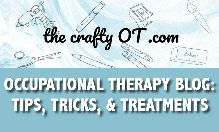 Occupational therapy blog: Tips, Tricks, and Treatment ideas. Fine motor, visual motor, strengthening activities. Free handouts. School OT. Pediatric OT. OT blog.