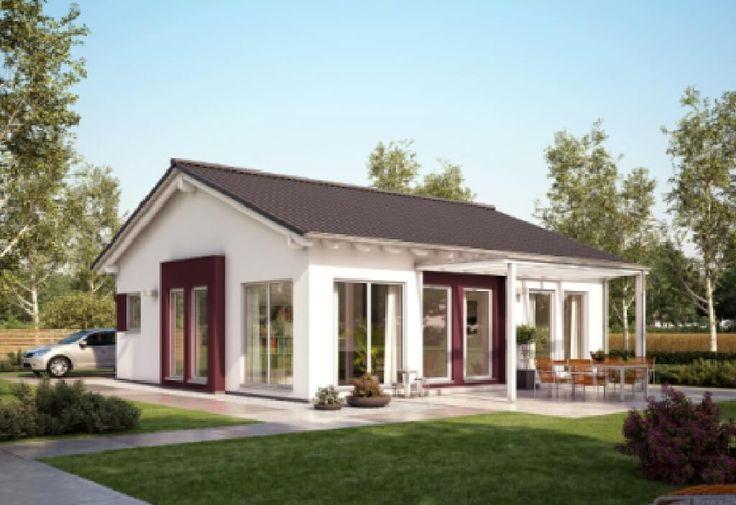 Fertighaus bungalow satteldach  Solution 078 – V6 - Living Haus - http://www.hausbaudirekt.de/haus ...