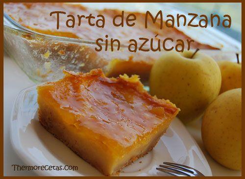 La receta de la Tarta de manzana sin azúcar que estabas buscando. Si eres diabético y te gustan los postres te encantará nuestra tarta sin azúcar.