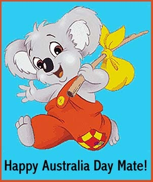 •*♥☼•*¨`Happy Australia Day!!•*¨`•*♥☼