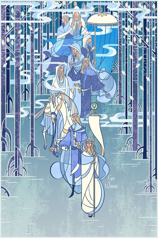Go west by breathing2004 on deviantART. Breathing2004 has some of the most wonderful work, you should go check out his stained glass work