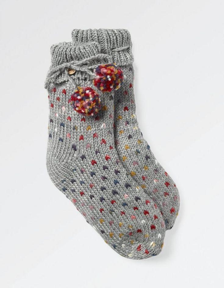 V-Knit Bed Socks