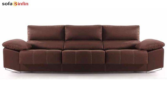 12 best sofas y butacas de piel images on pinterest for Sofa modular tela