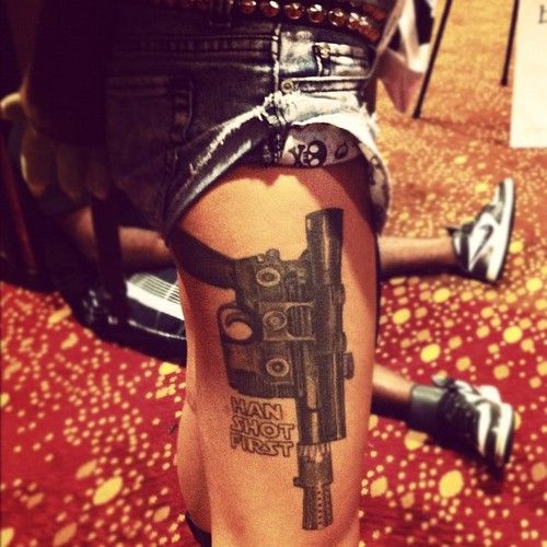 Definitely one of the coolest, most original tattoos I've ever seen.