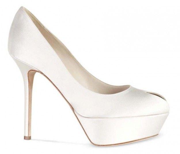 www.sergiorossi.com, Scarpe sposa Sergio Rossi, Cachet peep-toe, wedding shoes, bridal shoes, bride, bridal, haute couture