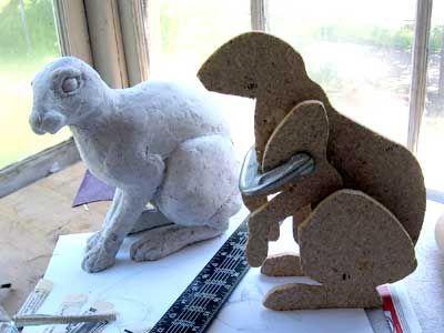 tutorial on paper mache sculpture.