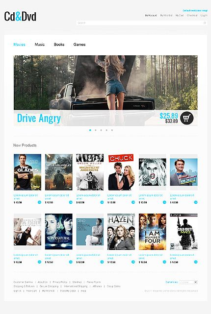 CD & Magento Themes by Hermes