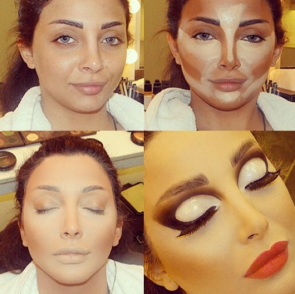 174 best images about CONTOURING MAKEUP PICTORIALS and Videos on ...
