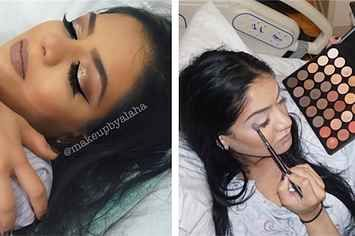 This Woman Was Shocked When Her Instagram Pic Of Her Putting On Makeup Went Viral