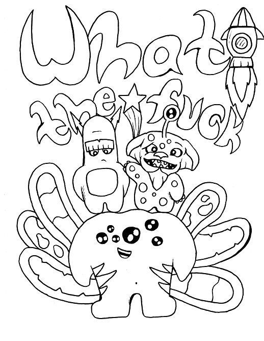 swear coloring pages - funny swear words coloring pages