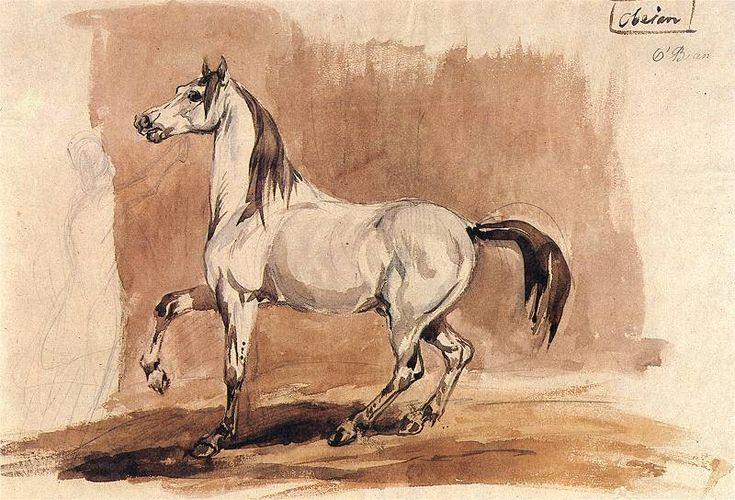 Koń Obeian   Piotr Michałowski