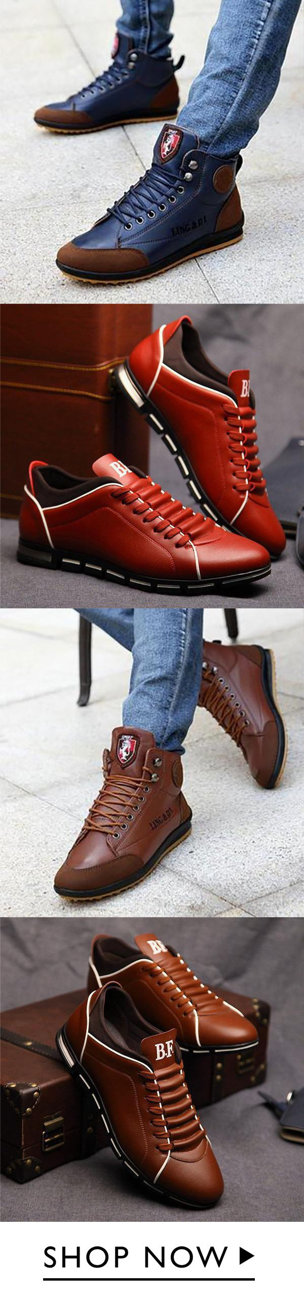 Casual Comfort Flat Lace-up Shoes   – Shoes