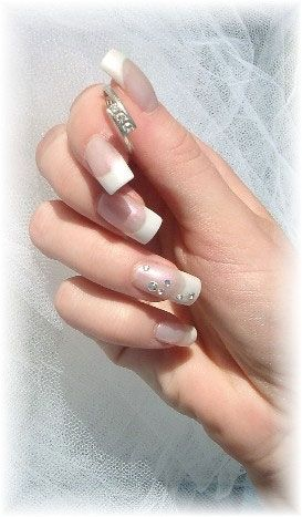 Wedding Day Nail. The perfect nails for the perfect day
