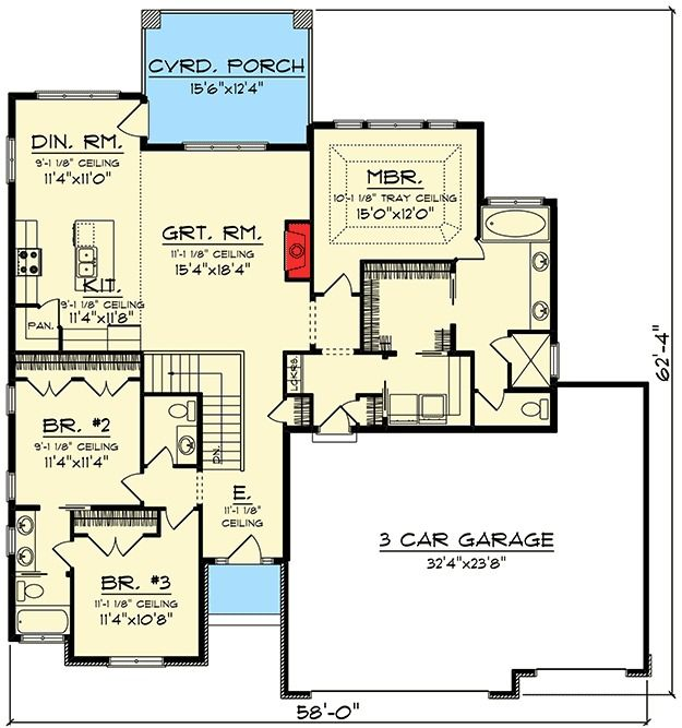 114 best Home plans images on Pinterest | Ranch home plans, Homes ...