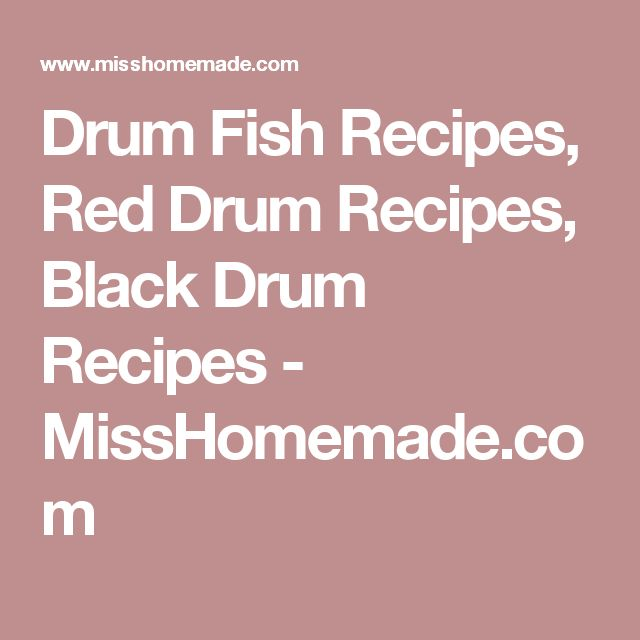 Best 25 redfish recipes ideas on pinterest tilapia fish for Drum fish recipes