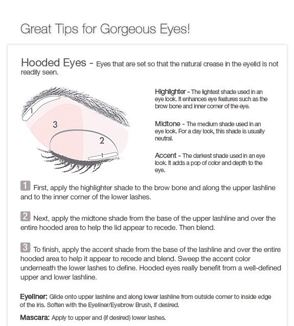 how to apply eye makeup and younique - Google Search