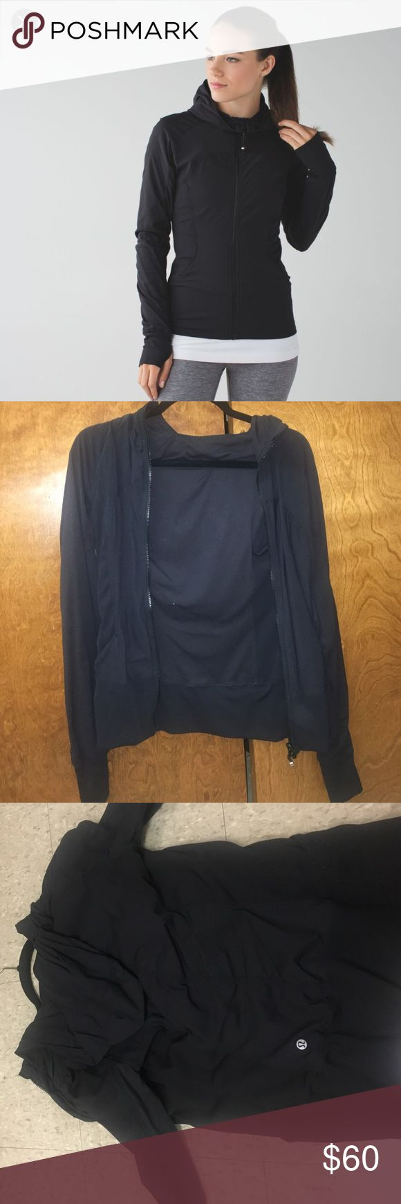 Lululemon In Flux Black reversible Lulu jacket. Worn maybe 3 times. Perfect condition! Size 8 lululemon athletica Jackets & Coats