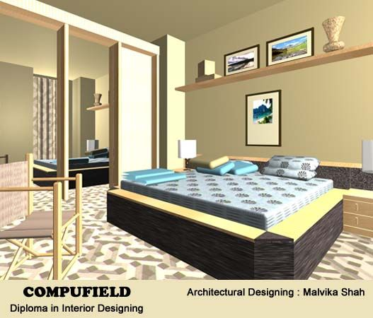 Institute Offer Course In Interior Designing Decoration Using Auotdesk Autocad Studio Max CAD