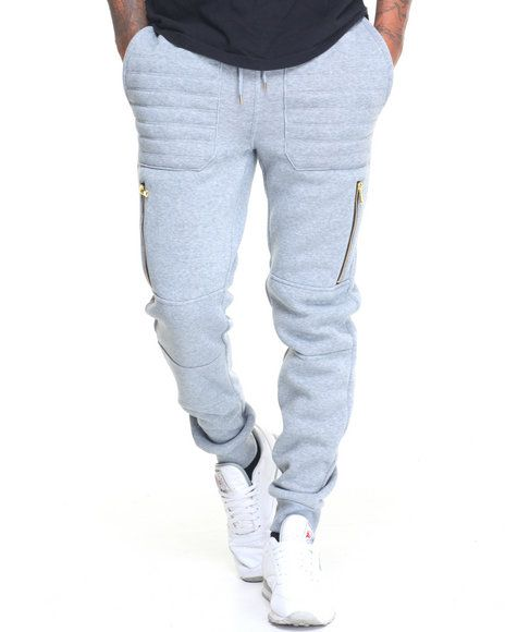Find Quilt Stitch Fleece Jogger Men's Jeans & Pants from Buyers Picks & more at DrJays. on Drjays.com