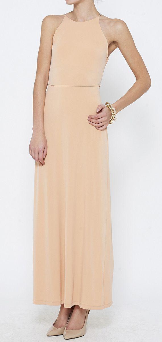 Francisco Costa for Calvin Klein Peach Dress
