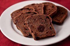 Double Chocolate Cherry Bread Yeppp it is real bread NOT sweet bread - it has yeast in it!!!