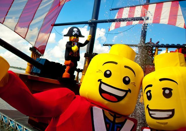 Pirates' Cove Legoland Florida ski show - Merlin Entertainments Group