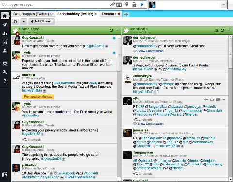 4 Impressive Twitter Apps for Your Web Browser - HootSuite rocks, I use it every day!! :)
