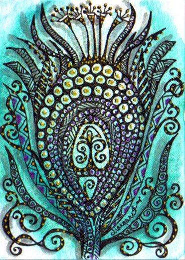 Batik feather