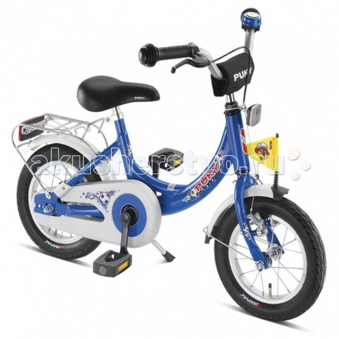 """Велосипед двухколесный Puky ZL 12-1 Alu  Puky ZL 12-1 Alu - самый легкий и безопасный велосипед из алюминия с низкой посадкой и очень легким ходом педалей для детей от 3 лет. Велосипед выглядит серьезно и представительно, его эргономика очень хорошо продумана, а качество материалов и сборки очень высокое. Такой велосипед послужит не один сезон, а после перейдет в """"наследство"""" младшему ребенку от старшего.  Немецкие конструкторы много внимания уделили безопасности юного гонщика. Цепь…"""