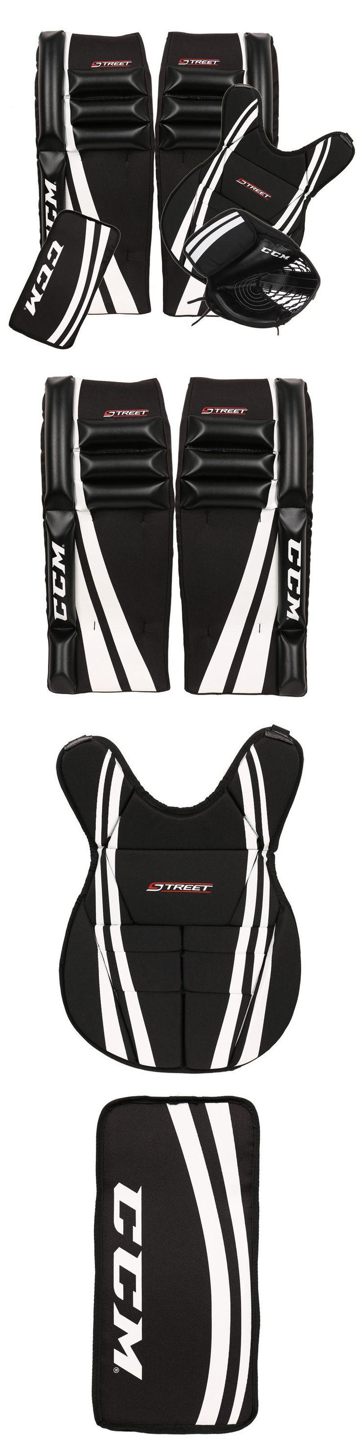 Other Hockey Goalie Equipment 79765: Ccm Jr. Street Hockey Goalie Kit -> BUY IT NOW ONLY: $139.99 on eBay!