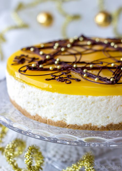 Lemon cheesecake (Finnish)