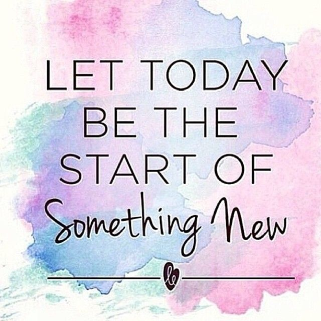 New Life Together Quotes: Quote - Let Today Be The Start Of Something New