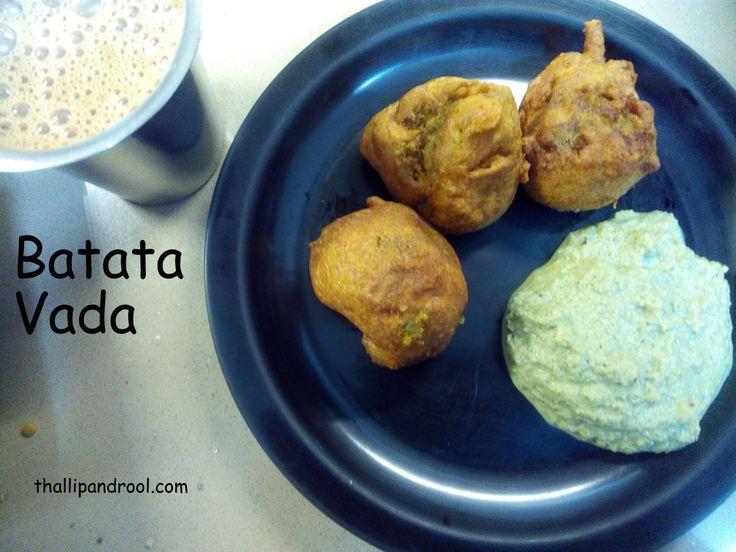 Batata Vada / Urullaikizhangu Bonda