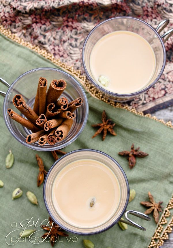 homemade authentic chai- make with cashew milk for the creamy taste for dairy free