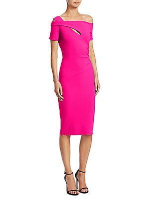 467141d3 Chiara Boni La Petite Robe Cutout Knee-Length Dress | Life Lessons ...