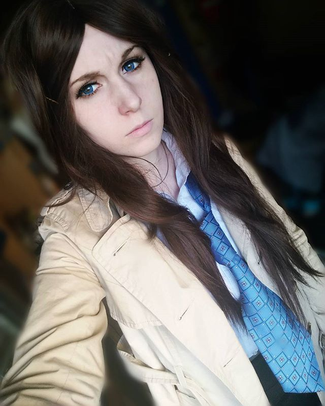 Castiel Fem! Instant cosplay see if I can be an angel  #supernatural #castiel #castielnovak #jimmynovak #jimmynovakcosplay #cosplay #polishgirl #supernaturalcosplay #castielcosplay #fem #genderbend #angel https://www.facebook.com/nonamefantasticteam/