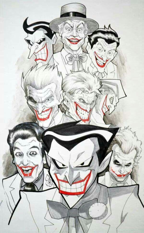 Joker a través del tiempo