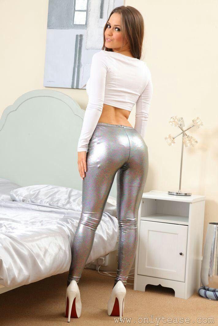 Silver Pantyhose Nice