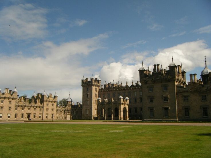 Floors Castle, Scotland