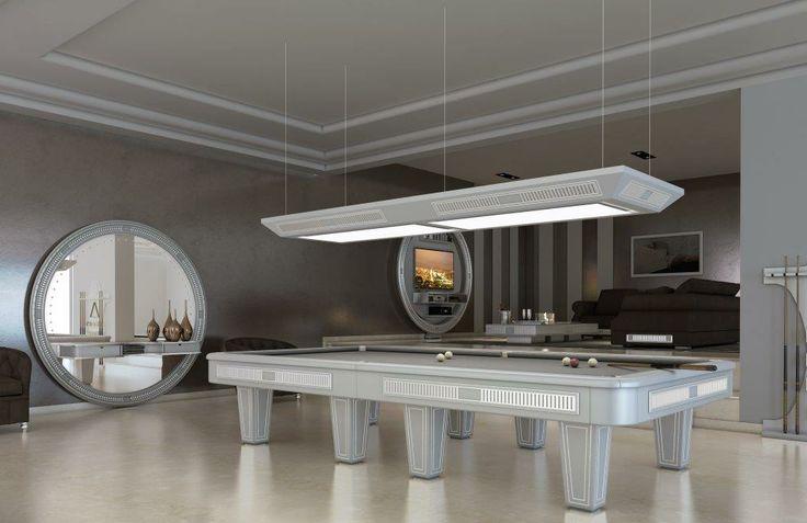 RUSSIAN POOLTABLE/BILLIARD FOR A LUXURY HOME LIVING #russianpool #pooltable #billiard #luxuryliving #homeliving #design #bigmirror #tvstand  #homedecor  #furnishing #interiordesign