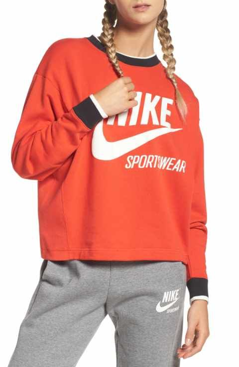 d55f88105 Nike Sportswear Archive Sweatshirt | carolines birthday | Nike ...